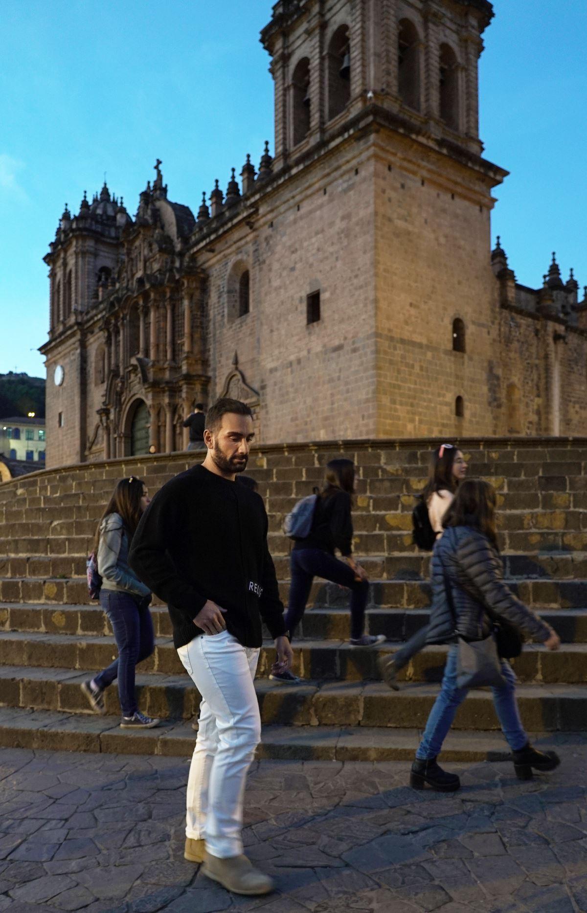 Ο Νίκος Κοκλώνης στο Περού
