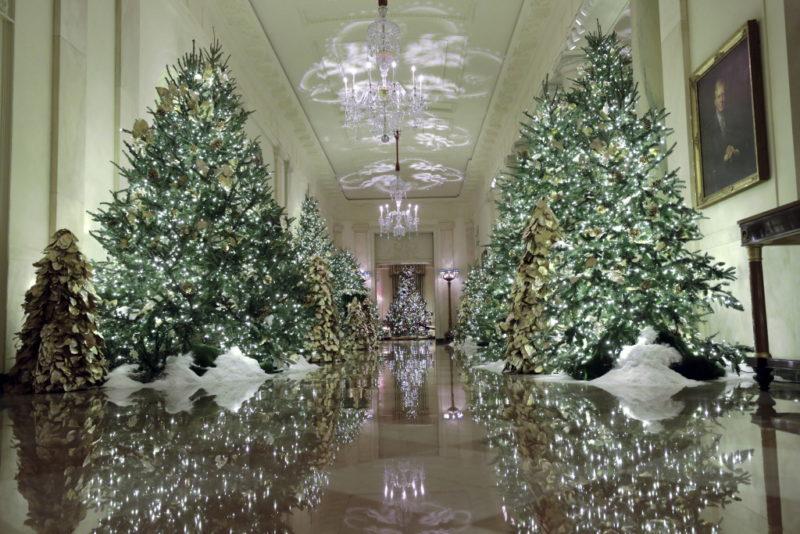 Melania Trump: Στόλισε τον Λευκό Οίκο 2