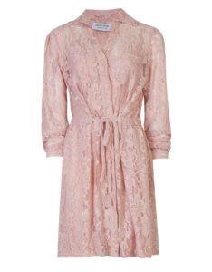 Ροζ φόρεμα-δαντέλα, από 79,90, 55,90 ευρώ-BSB