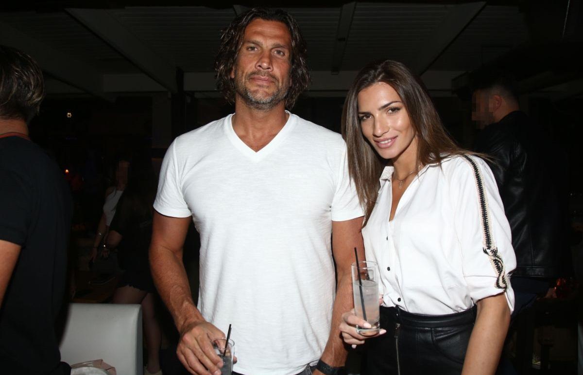 Ο Κώστας Κοκκινάκης και η Χριστίνα Κανελλοπούλου