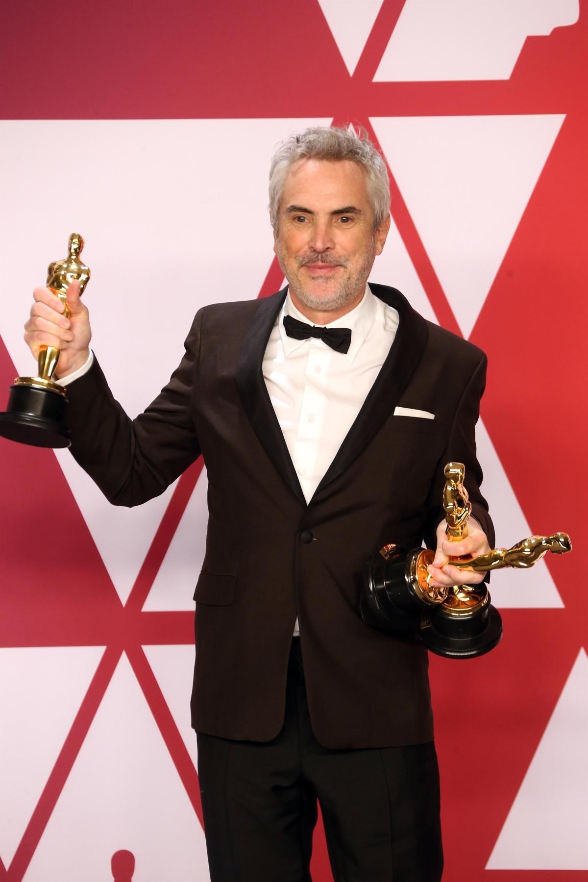 Ο Alfonso Cuaron, μεγάλος νικητής της βραδιάς - The Abaca Press