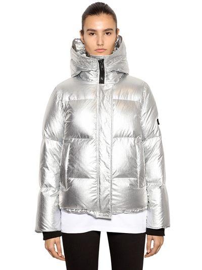 Γκρι-ψαροκόκαλο oversized παλτό με ζώνη-Kenzo