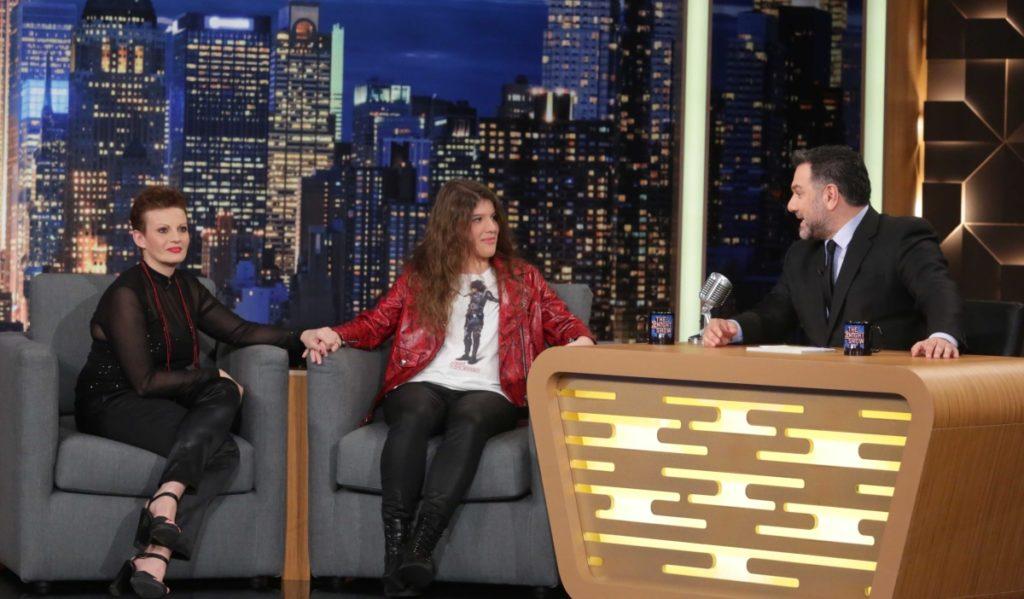 Η Χριστίνα Αρχοντή μαζί με τη μητέρα της Λίλιαν Αρχοντή στο The 2night Show