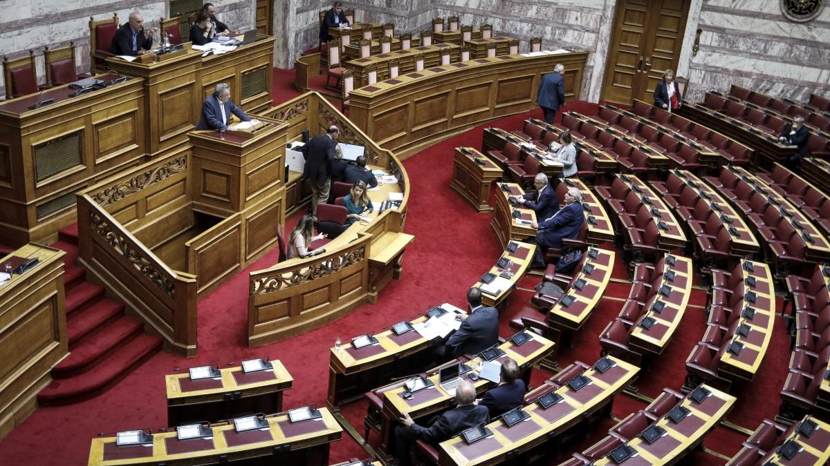 Η ολομέλεια του ελληνικού κοινοβουλίου - Ευρωκίνηση